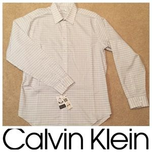 Calvin Klein Slim-Fit Button Up Shirt - NWT